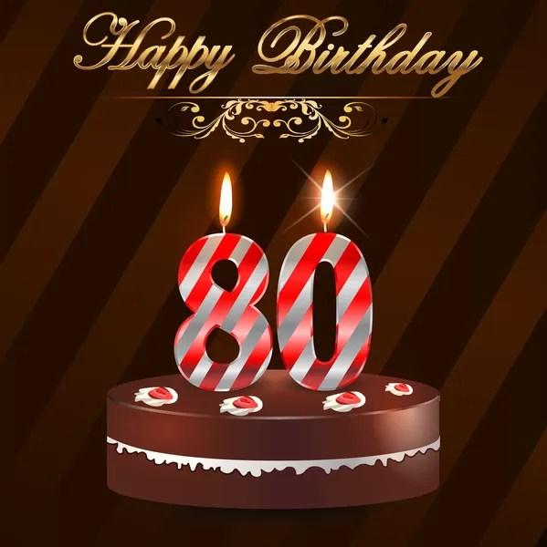 80th birthday invitations stock images