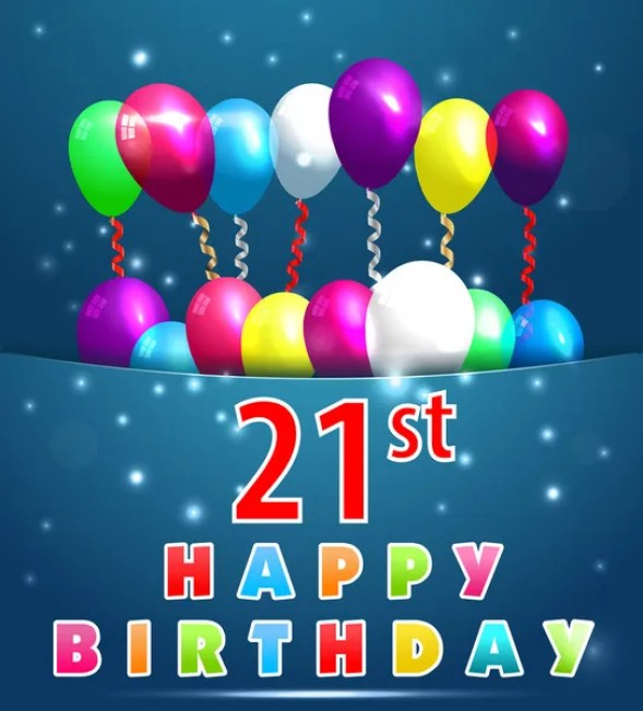 ᐈ Happy birthday 21 stock images, Royalty Free happy 21st birthday pictures | download on Depositphotos®