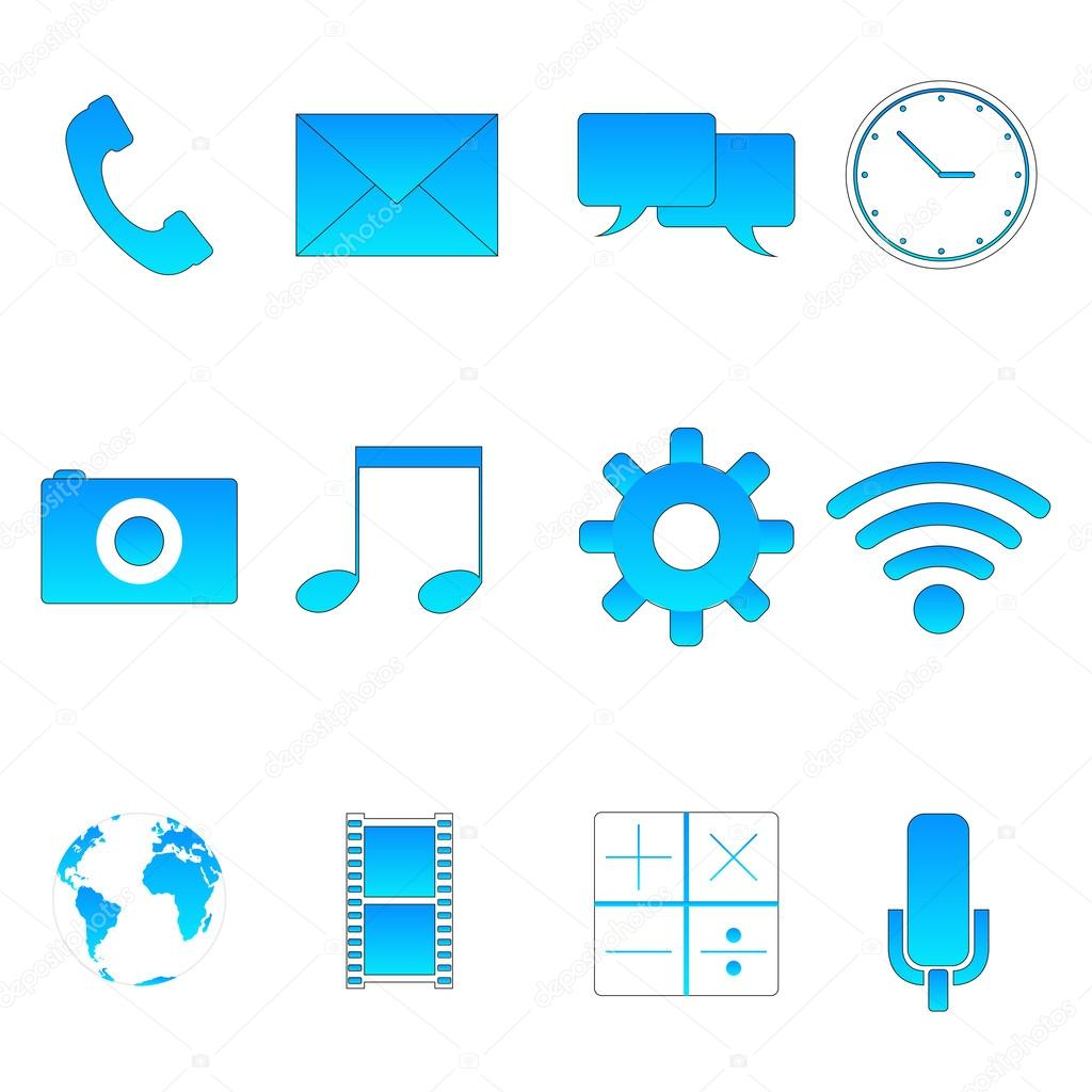 Technology symbols Stock Vector agongallud 50477569