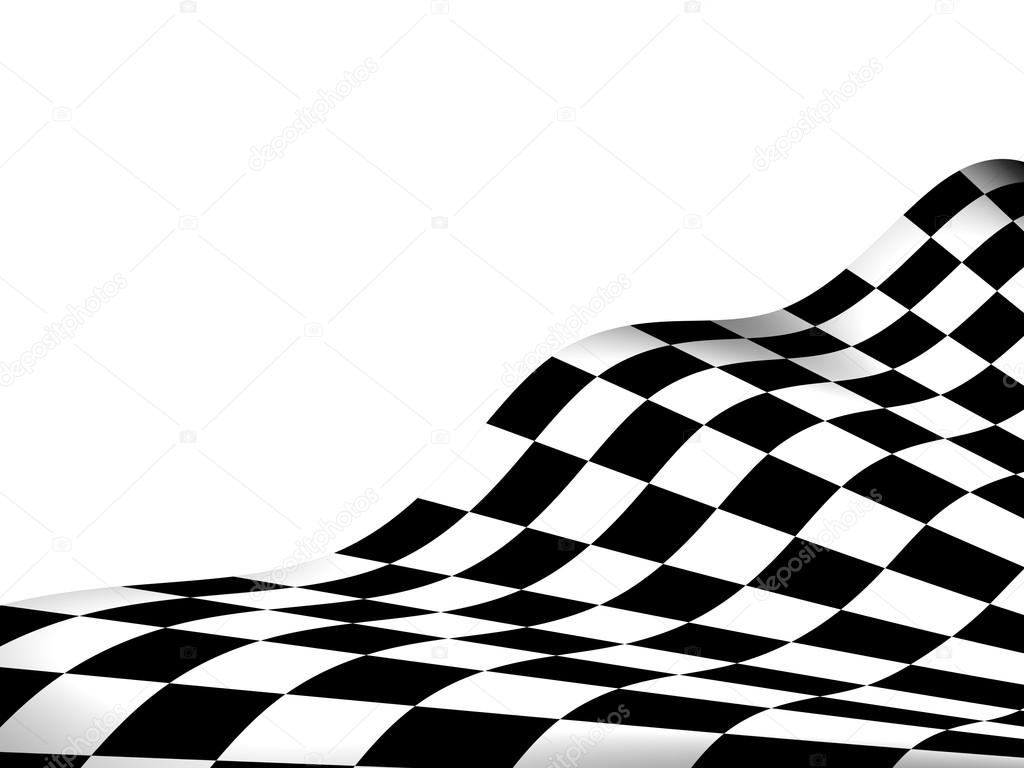 Car Racing Checkered Flag Background