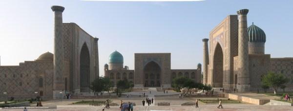 Download wallpaper Uzbekistan Samarkand area Registan