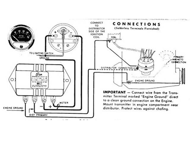 Wiring Diagram For Sun Super Tach Ii : 36 Wiring Diagram