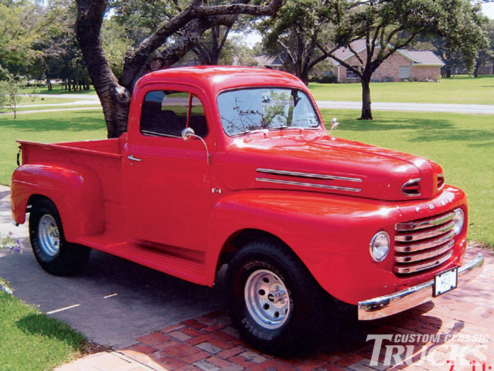 0502cct 01 z custom classic trucks readers rides 1948 ford?resize\\\=665%2C499 90 ford tractor 5610 wiring wiring diagrams 5610 ford tractor wiring diagram at gsmportal.co
