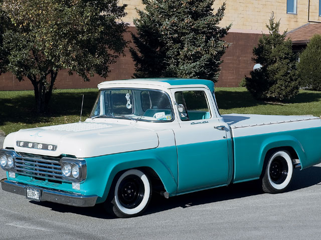 1959 Ford F100 The Look Hot Rod Network