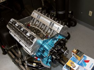 AMC 360 Engine Build  370ci CCRambler Engine Makes 480HP