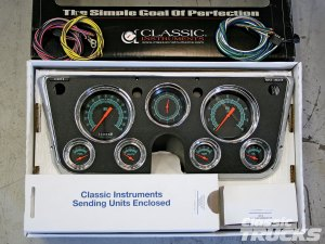 Classic Instruments Gauge Panels For 19671972 Chevys And GMCs  Hot Rod Network