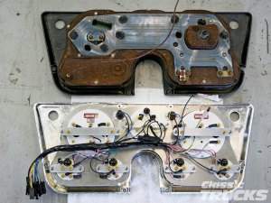 Classic Instruments Gauge Panels For 19671972 Chevys And