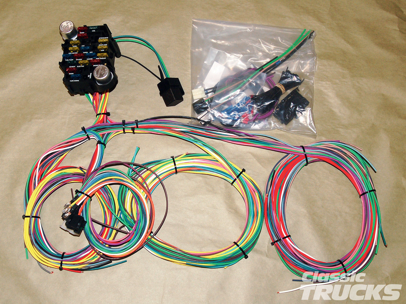 Australian Made Wiring Harness : Painless wiring harness australia diagram