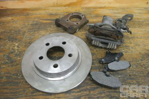 Swap Your Drum Brakes with Budget GM Rear Disc Brakes  Hot Rod Network
