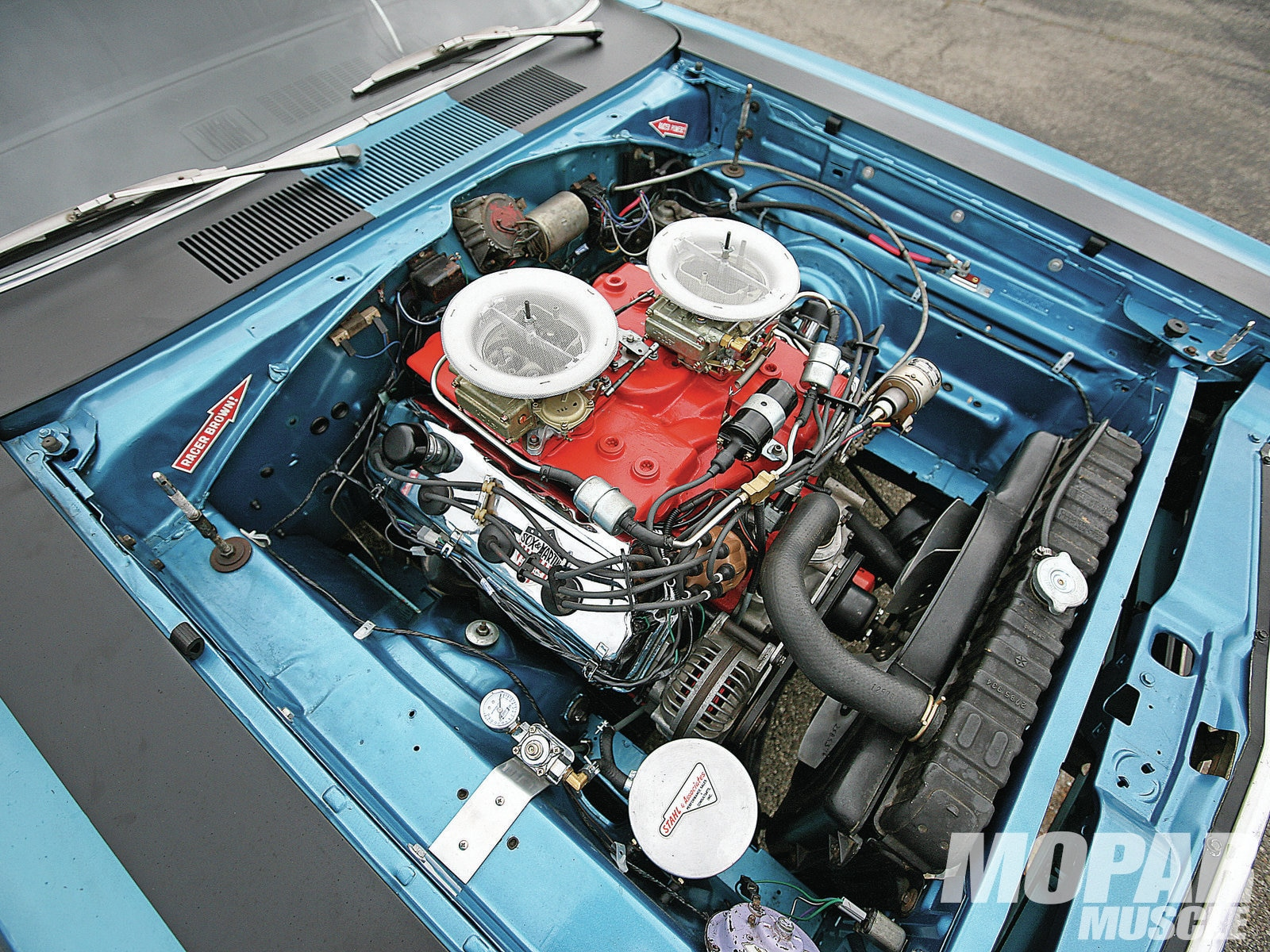 Engine 1969 Plymouth Runner Road
