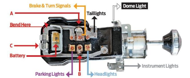 hot rod headlight wiring diagram wiring diagram honda motorcycle headlight wiring diagram image about