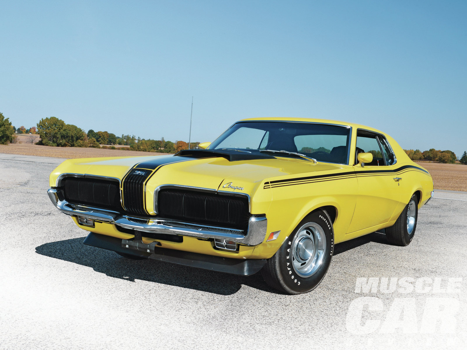 Perfect Storm   1970 Mercury Cougar   Hot Rod Network 1970 Mercury Cougar Front