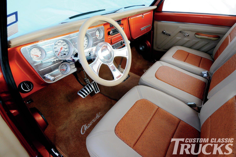 1968 Chevy Truck Interior