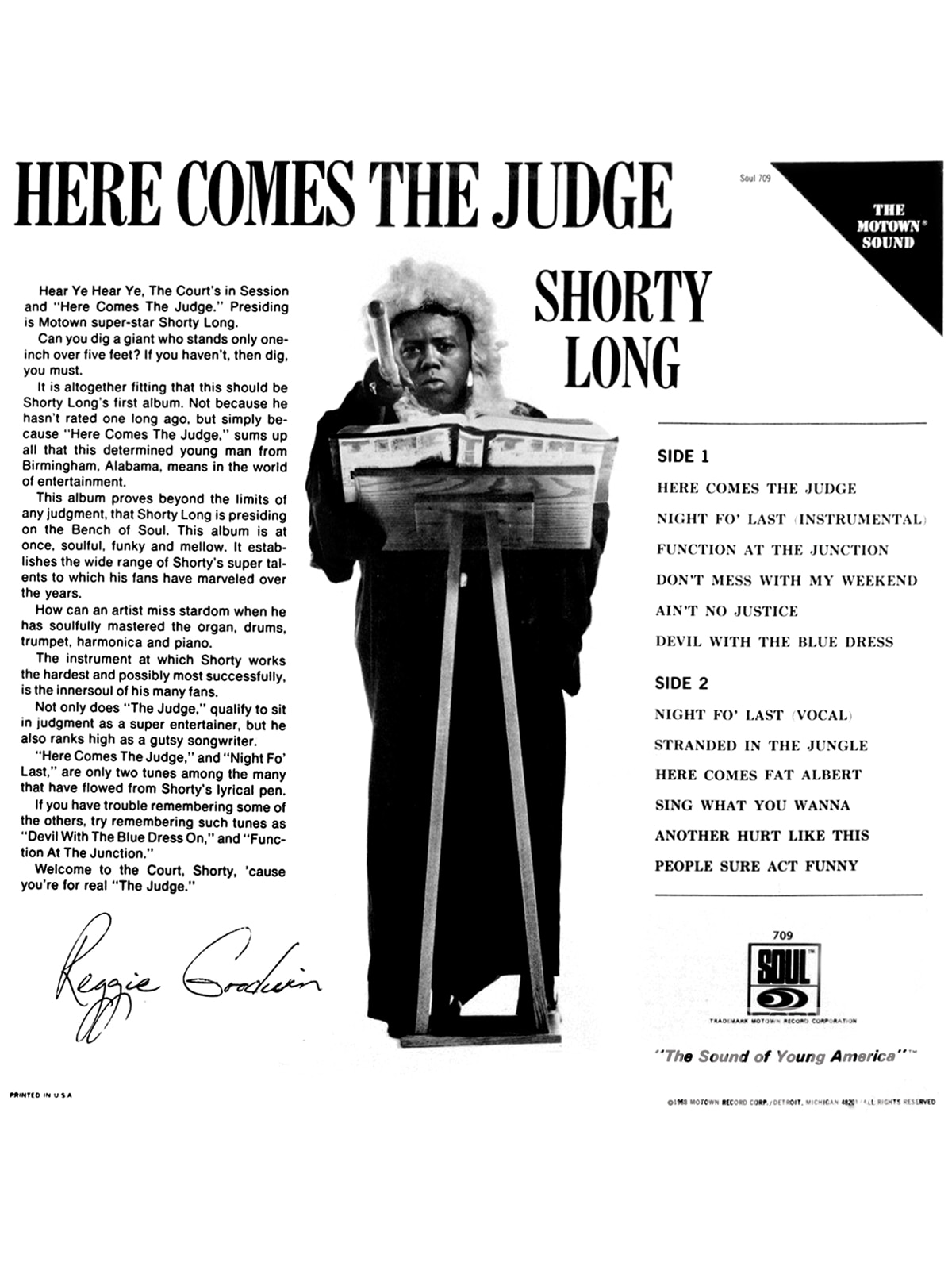 Here Comes The Judge Timeline