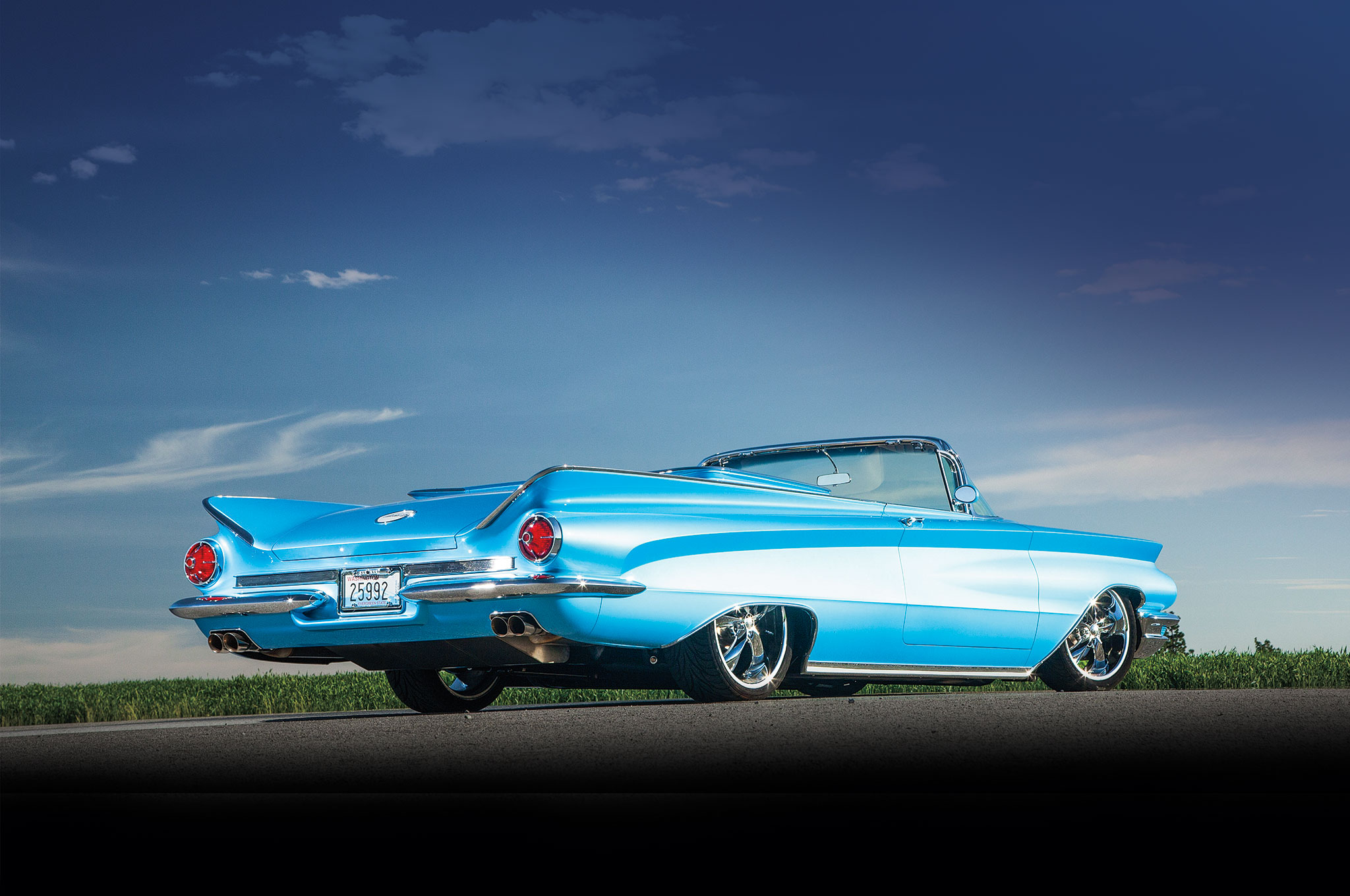 1960 Ford Starliner Convertible