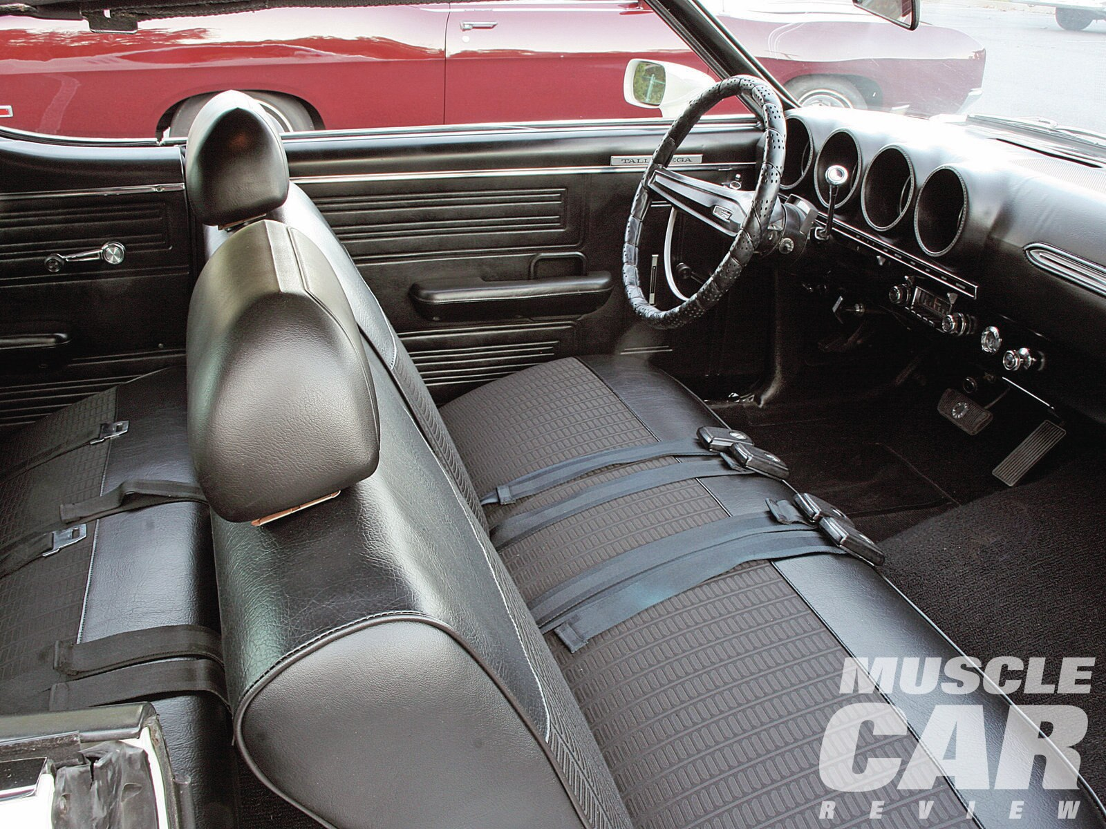 1969 ford torino talladega first production interior with black     1969 ford torino talladega first production interior with black vinyl bench seat    Hot Rod Network