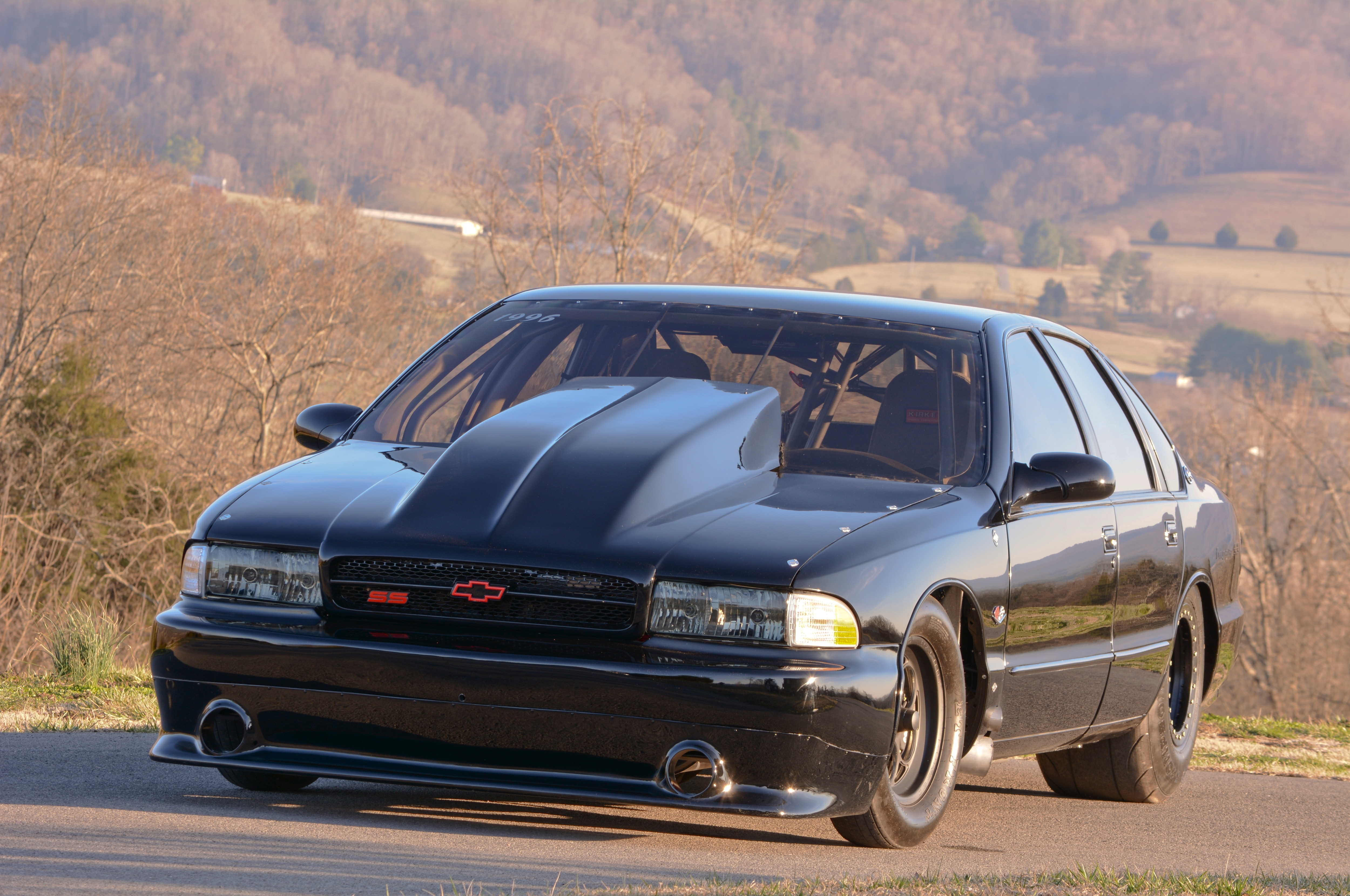 Rick Wetherbee's Outlaw Drag Radial 1996 Chevrolet Impala