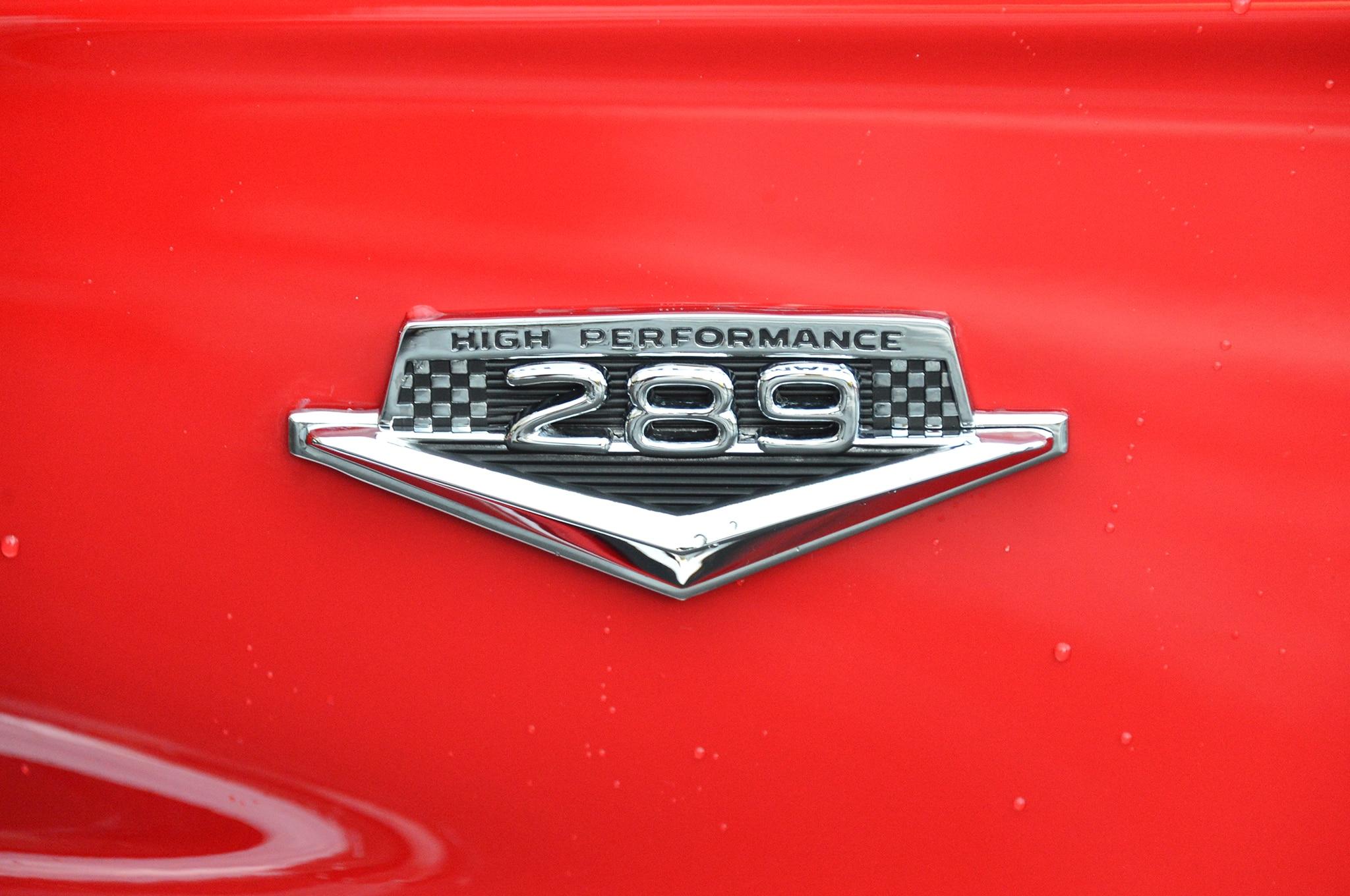1966 Mustang Gt 350 Engine
