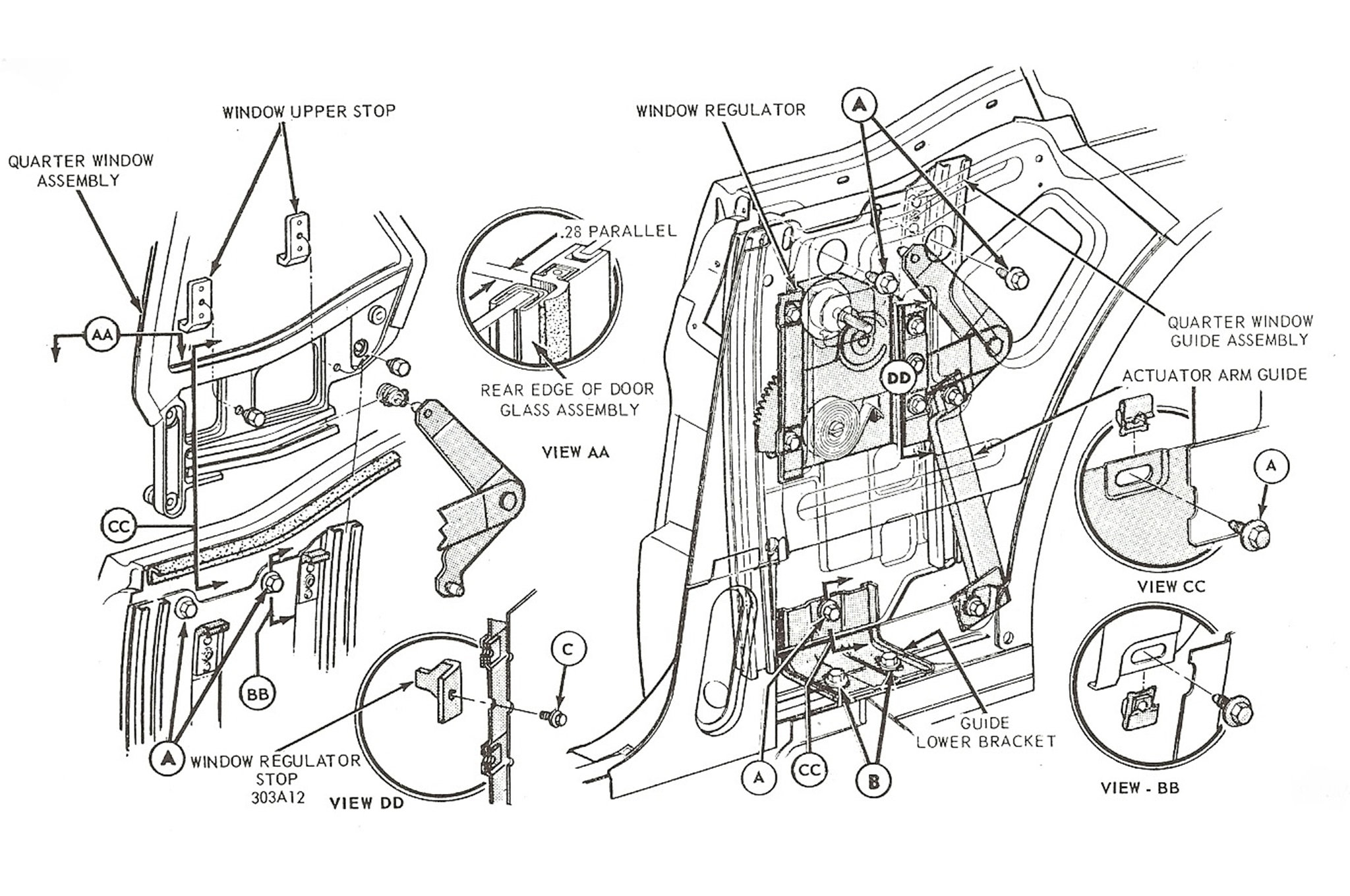 Ford Explorer Power Windows Wiring Diagram