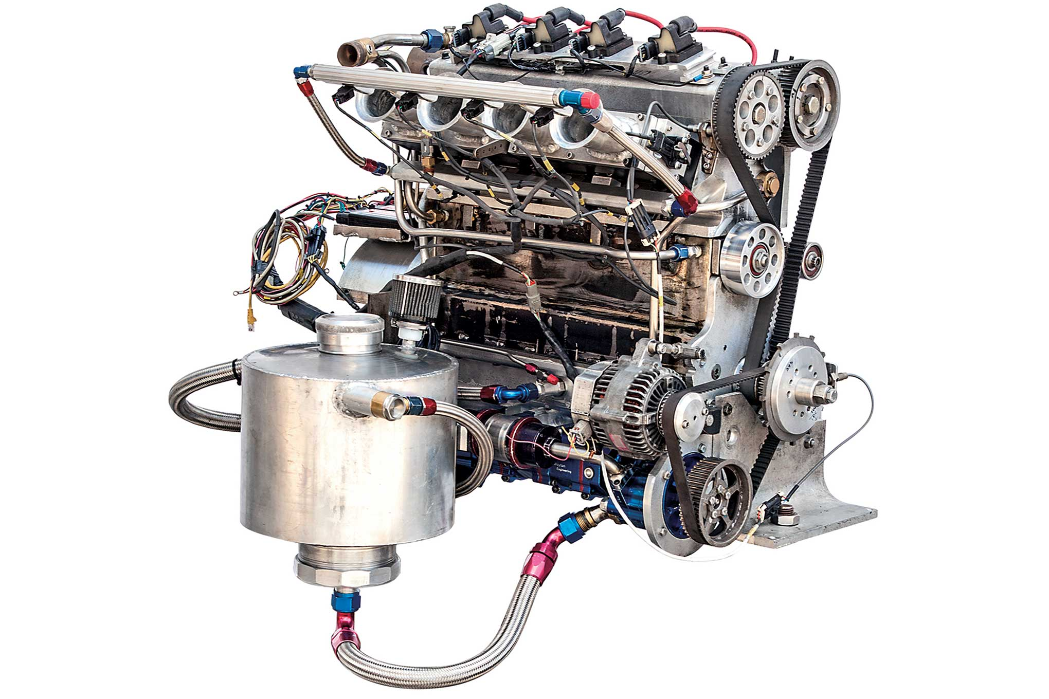 When no one builds the engine you need, build your own. That's what Pete Aardema and team did.