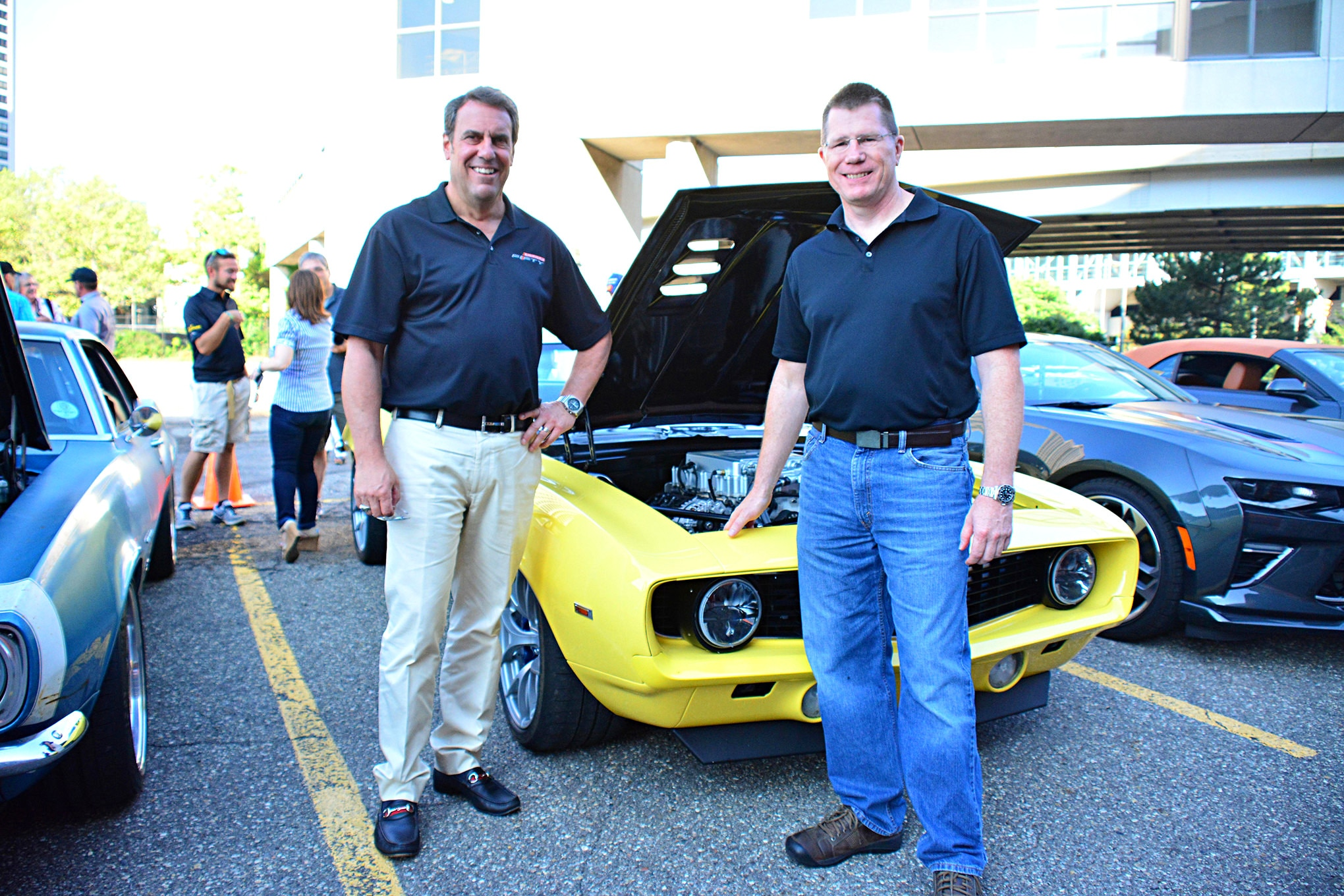 Mark Reuss might be a VP at GM, but he's a regular car guy that's passionate about the Camaro. He's also a good friend with Pro-Touring pioneer and GM engineer Mark Stielow.