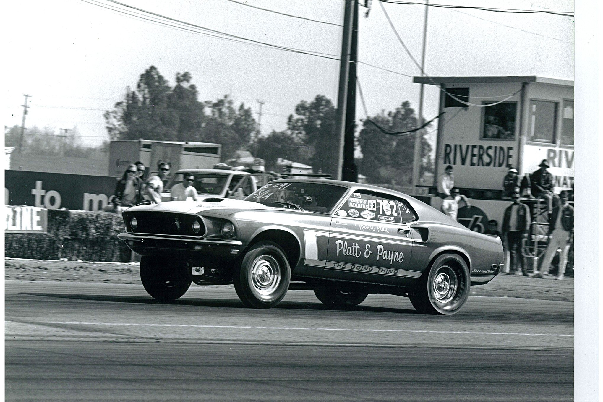 "Platt racing at the Hot Rod Magazine Championship Drags, where he (and two other Ford pilots) were found ""on the light side"" in post-race tech, according to the magazine's race coverage."