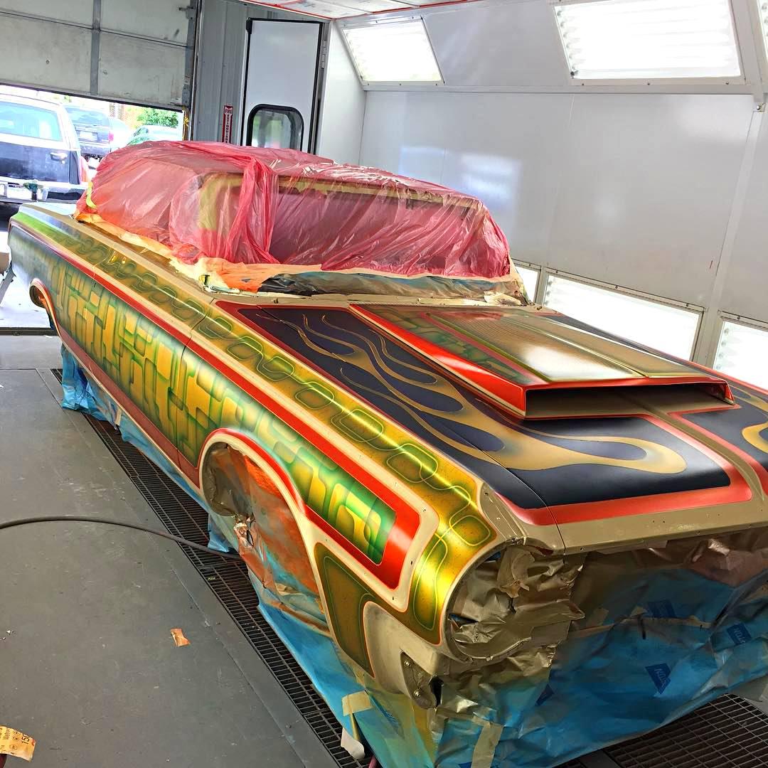 Drag Jobs Car Custom Paint