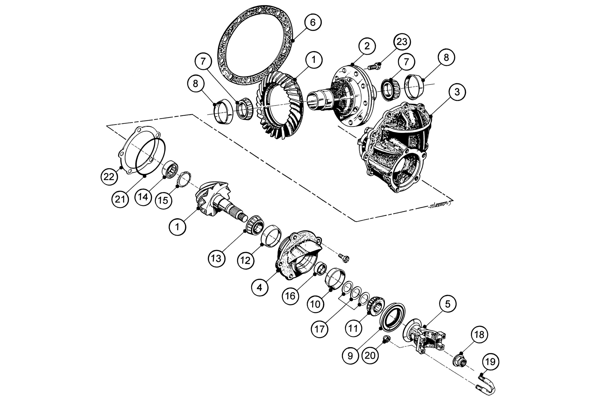 Ford 8 Rear End Diagram