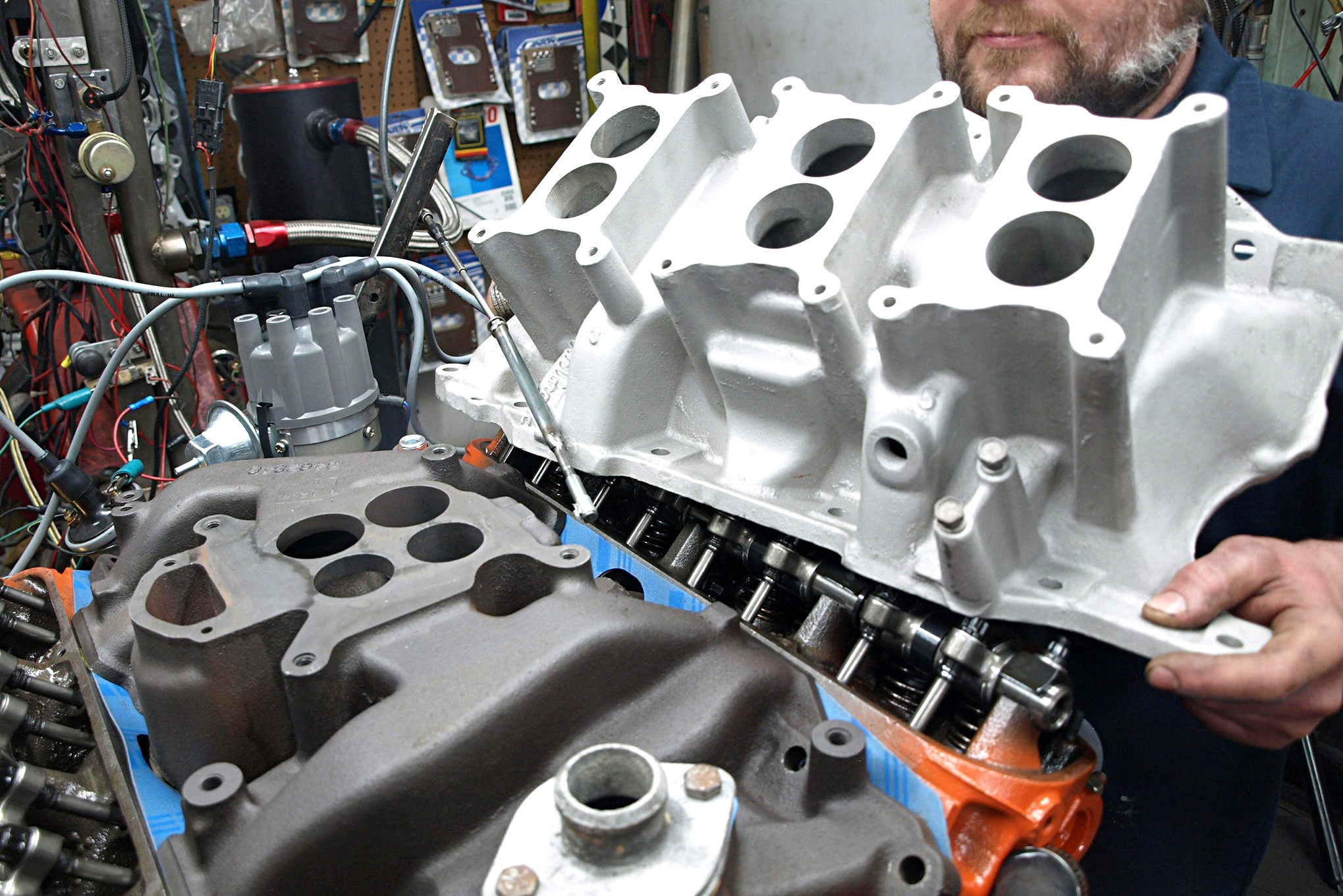 How Bad Did Mopars 340 Beat Ford Chevy Shocking New Data 630 Plymouth Engine Diagram The Stock Dual Plane Four Barrel Manifold 466 Pounds Is An Excellent
