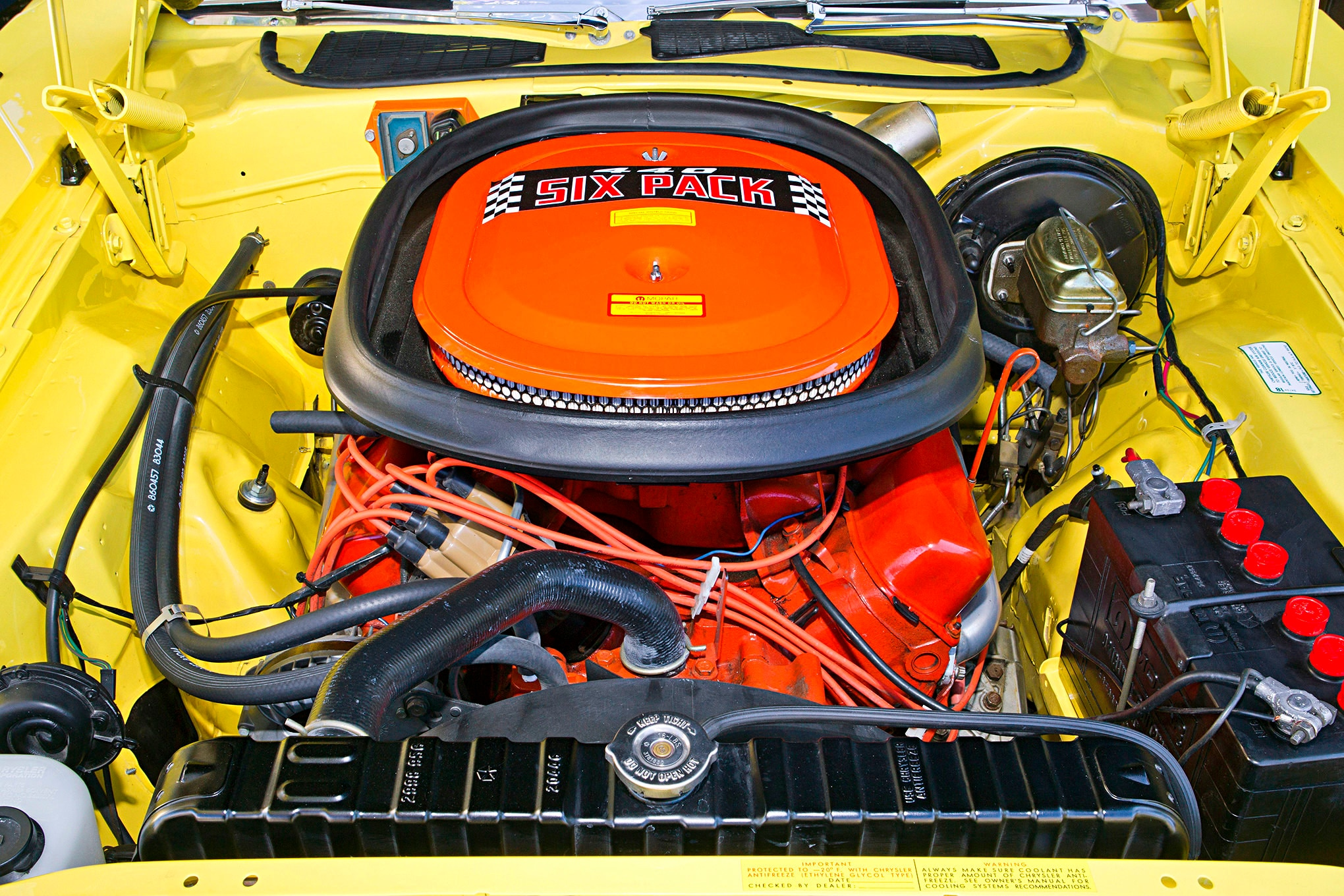 Just shy of 500ci, this stroker RB engine has more than enough power to roast those rear tires off for lengths you could measure from space. A wolf in stock-appearing clothing, this car is a rocket ship.