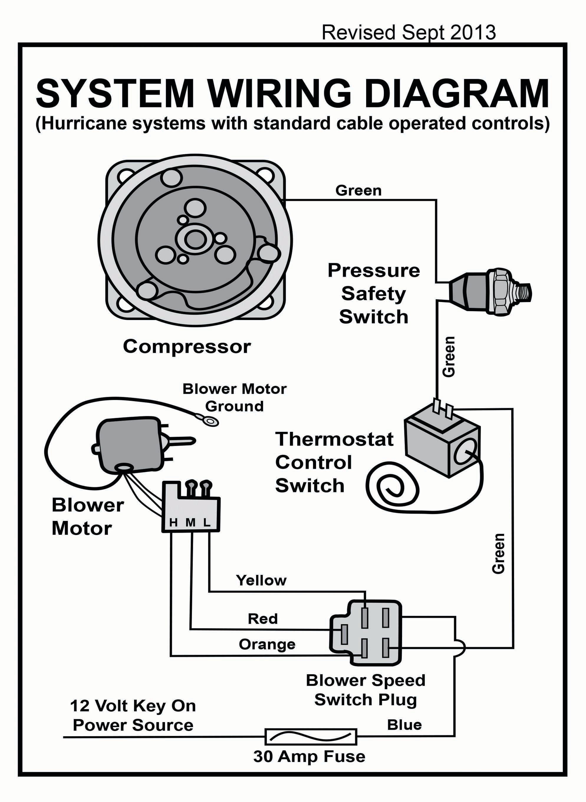 A C Pressure Switch Wiring