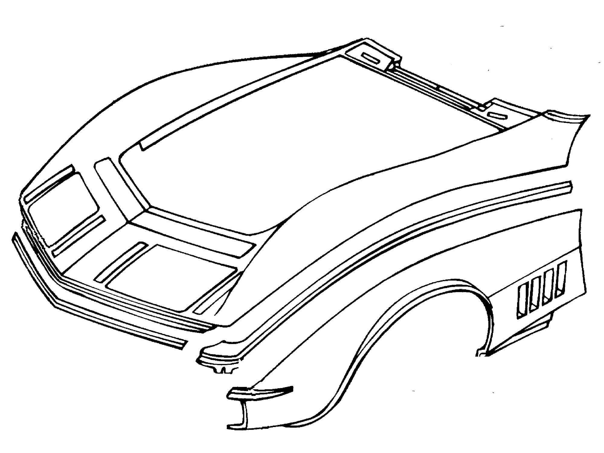Repairing Your Corvette S Minor Fiberglass Damage
