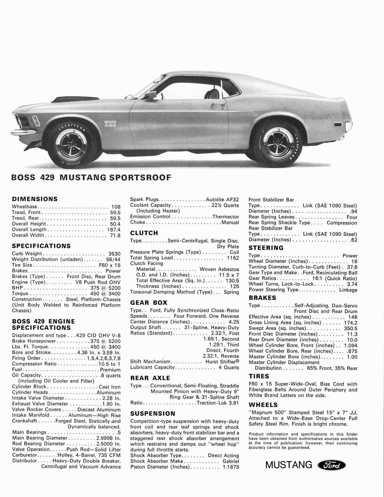 Kaase Boss 429 Engine