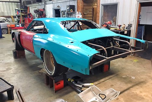 """Building The 1969 Dodge Charger """"Scraptona"""": """"Mostly Old"""