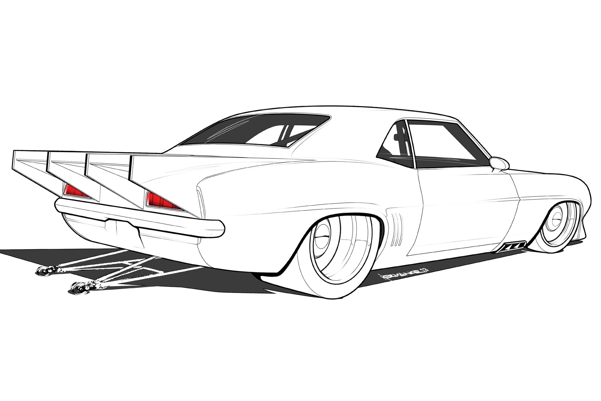 12 Design Concepts For A New Generation Of Pro Street