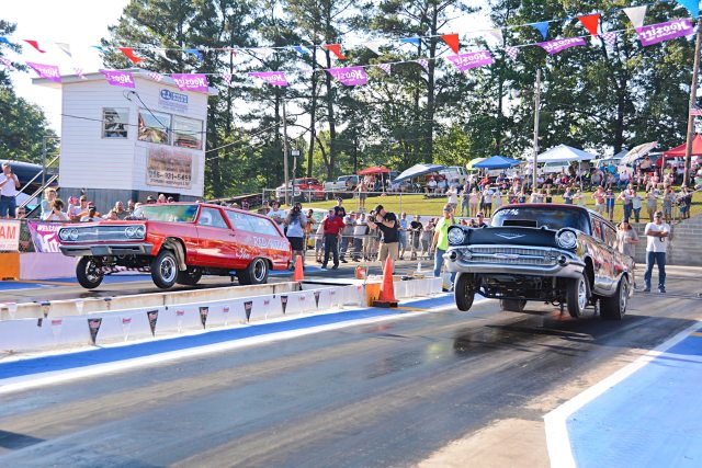 Southeast Gassers Assoc Wheels Up & Wild Rides  | Plug2Game