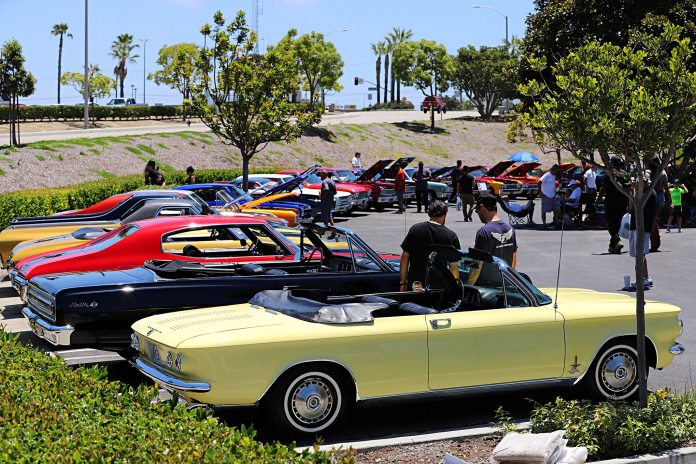 GM Muscle of All Kinds at Original Parts Group's Summer Shows