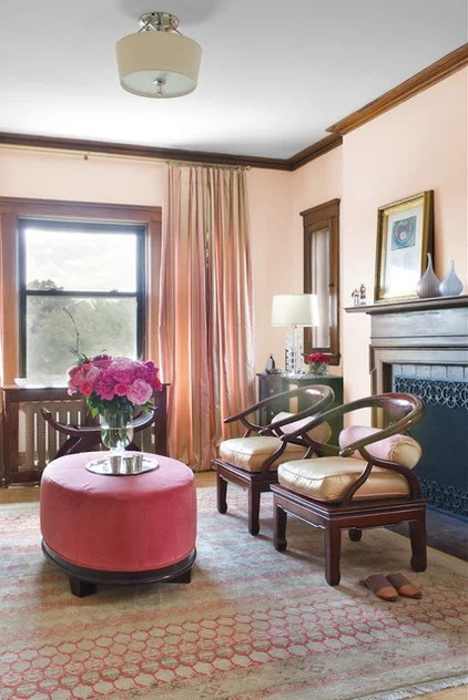 eclectic living room by MANDARINA STUDIO interior design