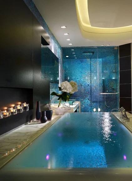 contemporary bathroom by Pepe Calderin