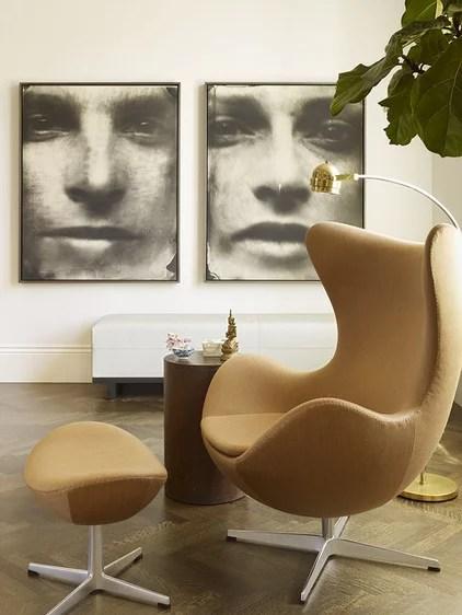 modern living room by Chloe Warner