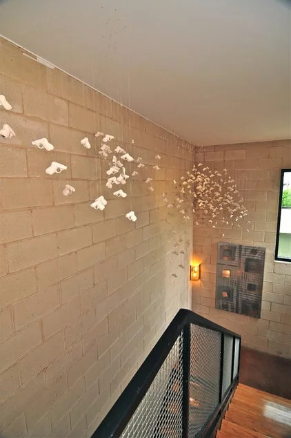 modern hall by Valerie McCaskill Dickman