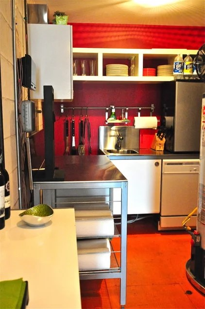 eclectic kitchen by Valerie McCaskill Dickman