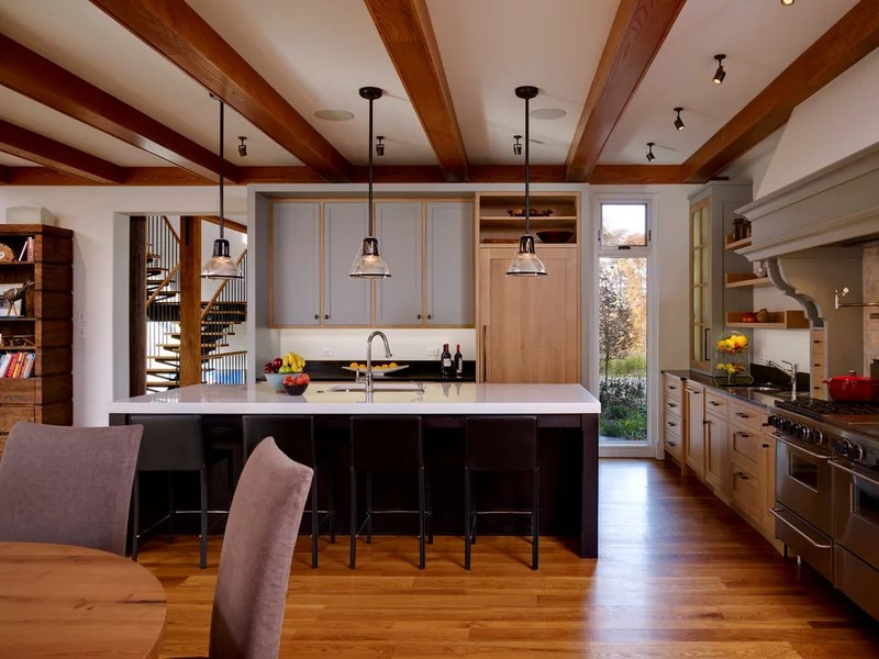 contemporary kitchen by Moger Mehrhof Architects