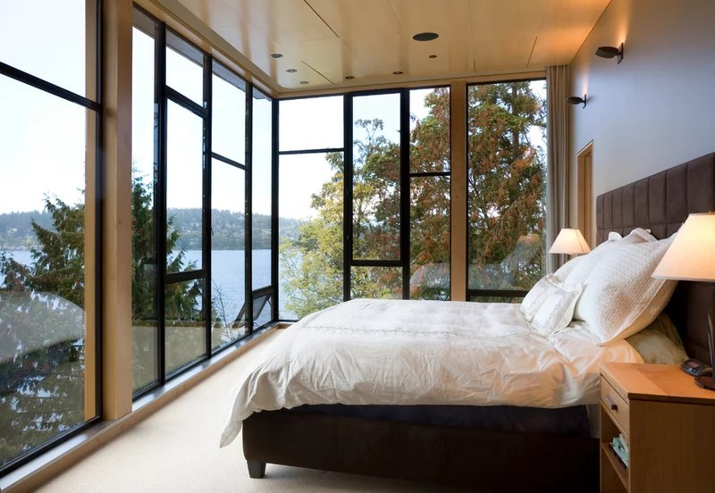 contemporary bedroom by Prentiss Architects