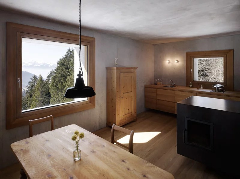 kitchen by marte.marte architects