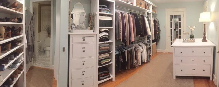 Hardworking Home: Clothes Closets