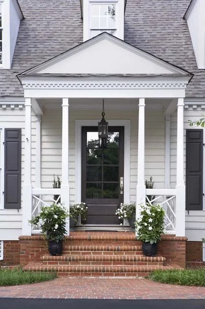 traditional exterior by Linda McDougald Design | Postcard from Paris Home