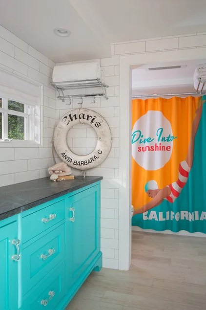 Beach Style Bathroom by Shannon Ggem ASID