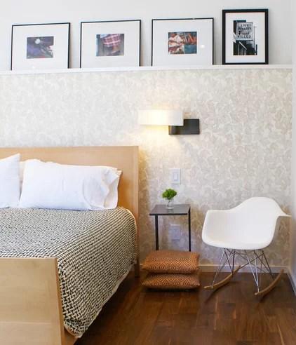 modern bedroom by Sara Cukerbaum
