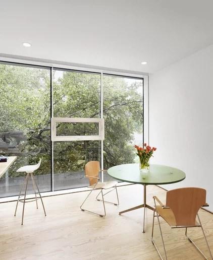 Modern Home Office by Baldridge Architects